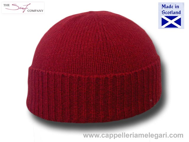 Cappello cuffia lambswool beanie hat