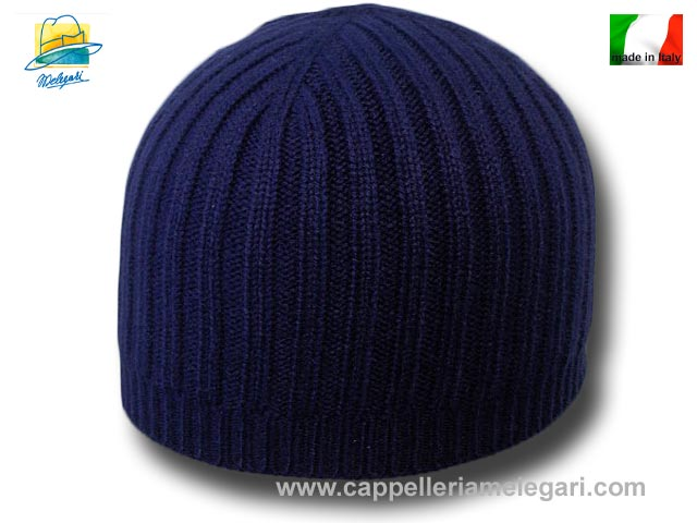 Beanie hat cashmere without lapel unisex