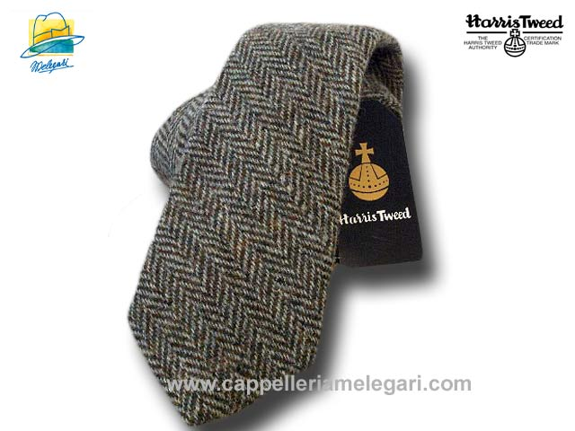 Harris Tweed Wolle Krawatte