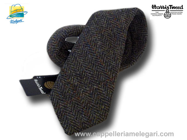 Harris Tweed wool  tie