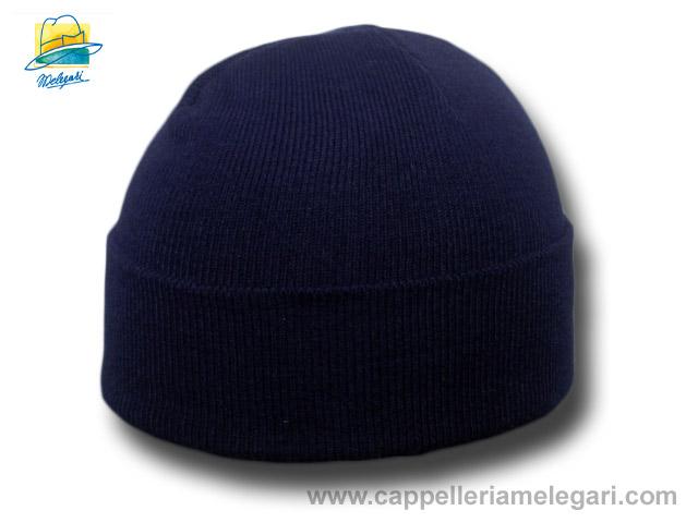 Melegari Cappello cuffia Cuculo acrilico costa 3b8a06944215