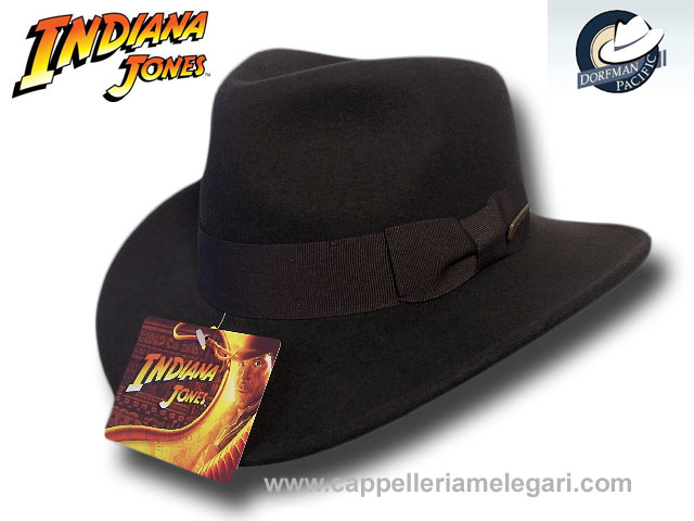 Dorfman Pacific Cappello fedora Indiana Jones