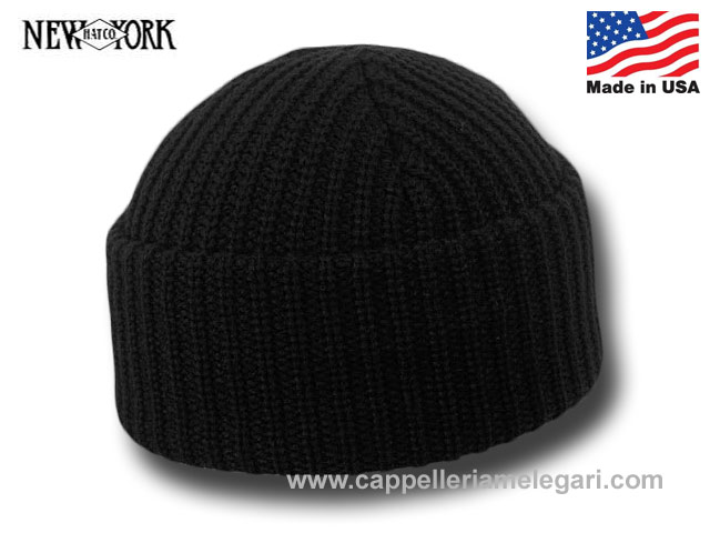 New York Hat Co. Cappello Cuffia Rocky Balboa Made in Usa