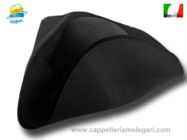 Big Tricorn wool felt hat