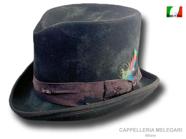 Cappello a cilindro Dandy Aged Western Top Hat