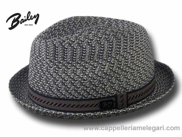Bailey Mannes Trilby Jazz Hat Grey