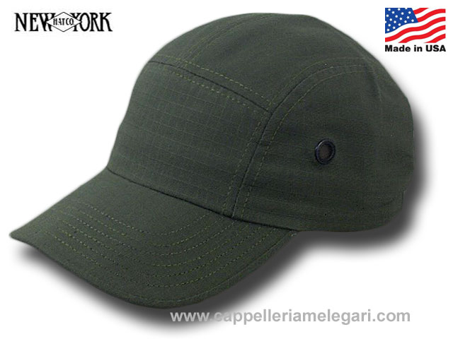 New York Hat Co. Rip Stop Camp Cap Made in USA
