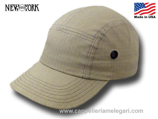 Cappello Rip Stop Camp Cap New York Hat Co. Ma