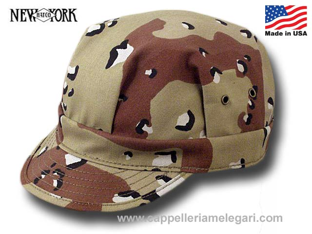 Cappello Engineer Camo Cap New York Hat Co. Ma