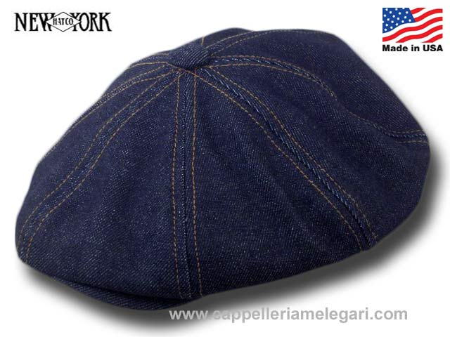 New York Hat Berretto irlandese American Newsboy Johnny Depp