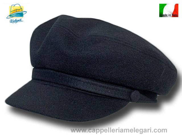 Melegari Seaman Fisherman wool and cashmere Aurora cap