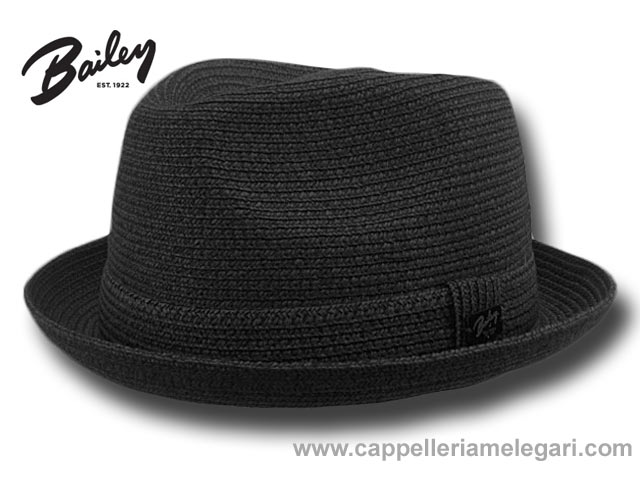 Bailey Billy Trilby Jazz Hat Black
