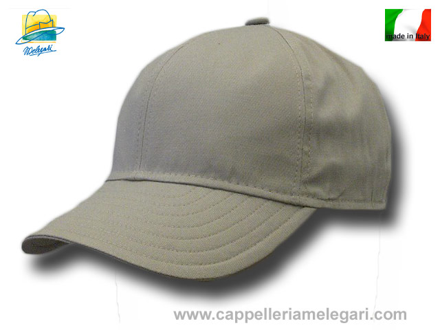 Light cotton baseball cap visor soft pocket Beige