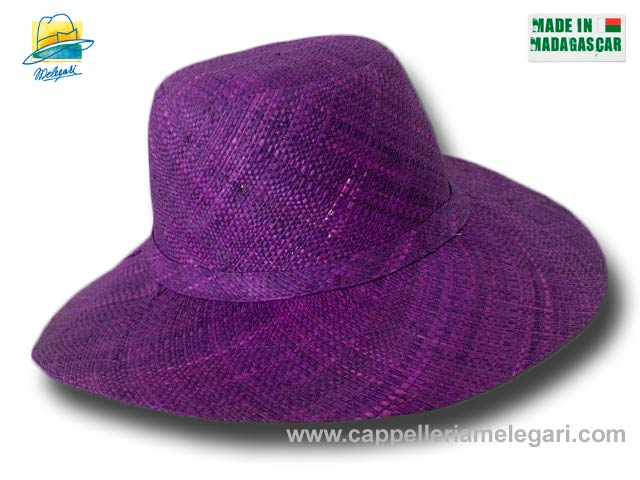 fold straw hat medium brim Monaco 10