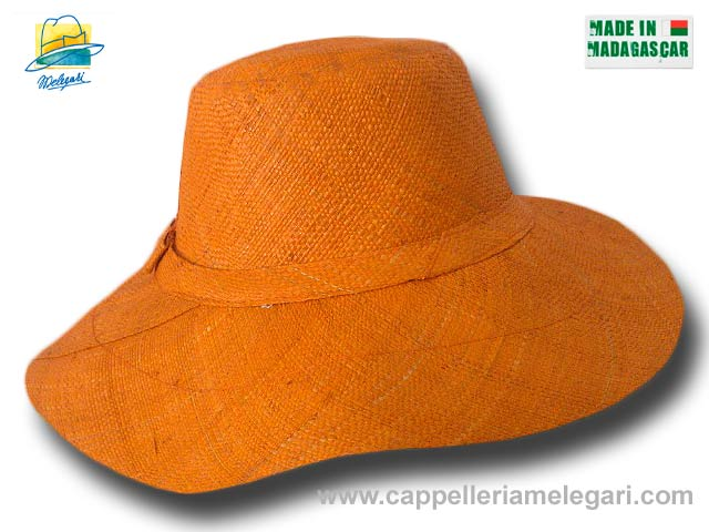 fold straw hat medium brim Monaco 04
