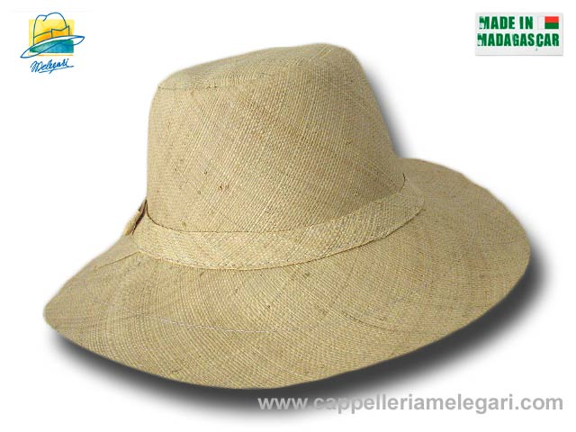 fold straw hat medium brim Monaco 06