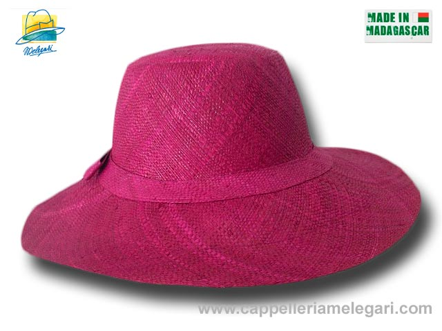 fold straw hat medium brim Monaco 08