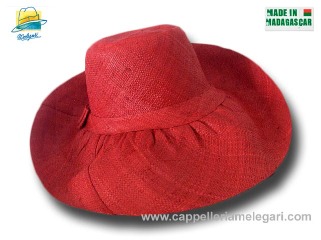 fold straw hat brim large Antibes 03