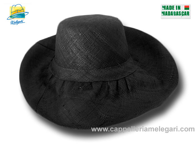 fold straw hat brim large Antibes 07