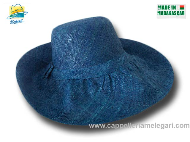 fold straw hat brim large Antibes 08