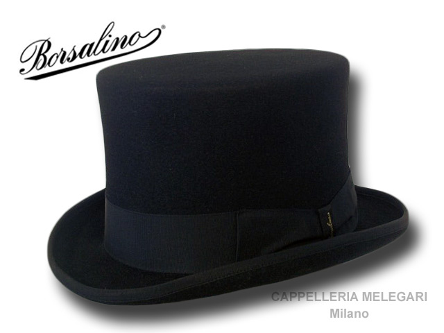 Borsalino rabbit fur felt Top Hat high quality