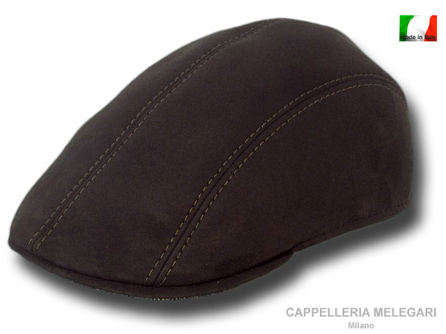 Berretto Golf cap ecopelle