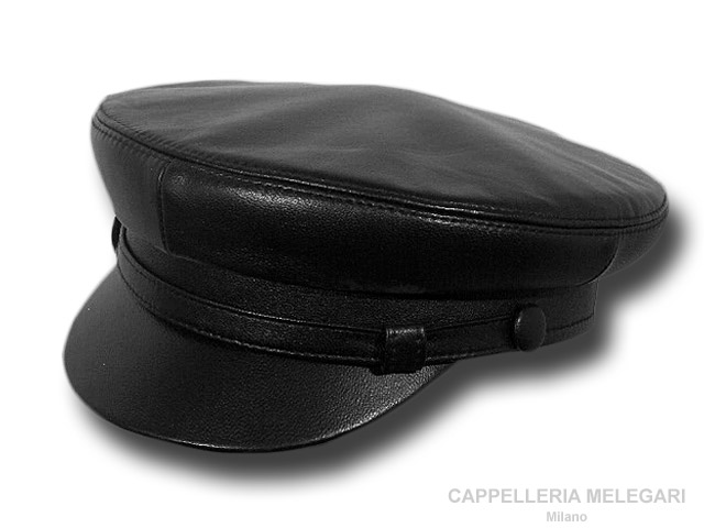 Balke Seaman Elbsegler North Sea cap leather