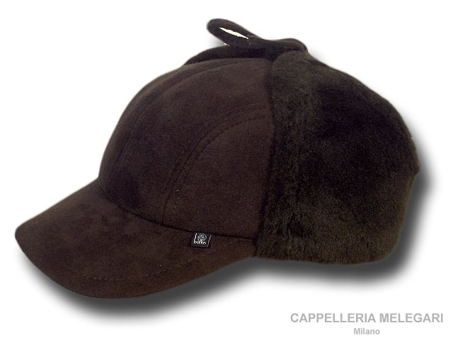Balke Finland eco shipskin hat Brown
