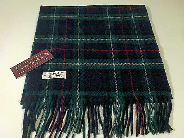 Lambswool Irish tartan scarf J.Hanly 3