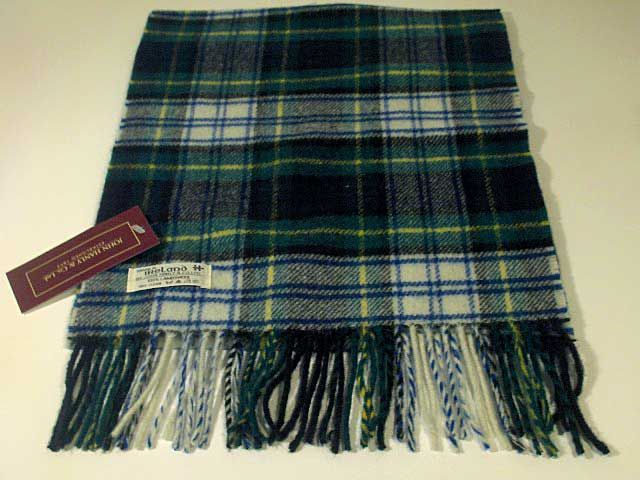 Lambswool Irish tartan scarf J.Hanly 8