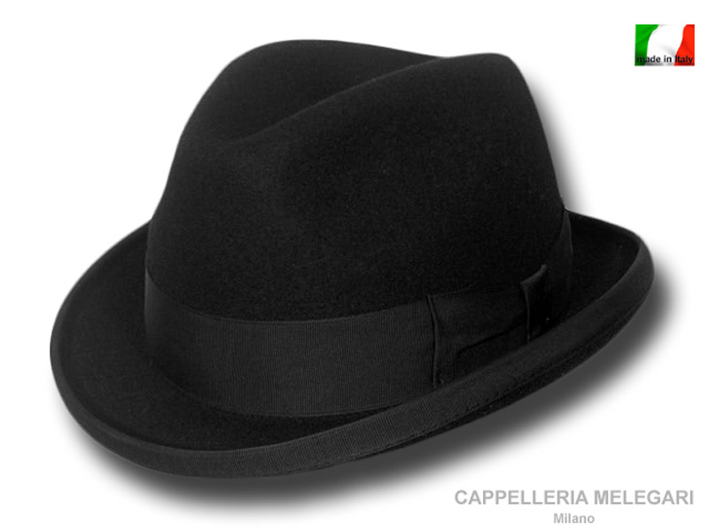Cappello a homburg trilby Nashville hat in lan