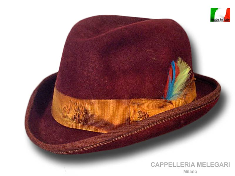 Homburg Hut Dandy western Aged