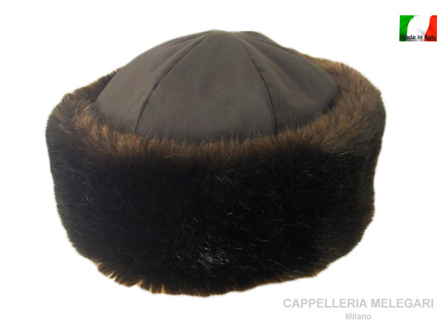 Ecological faux fur lady Alessia Zarina hat