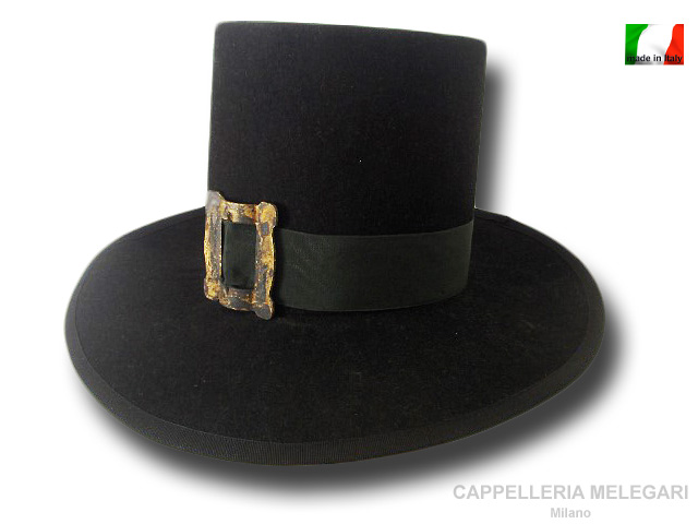 Top hat Inquisition of 1600  18 cm high