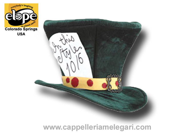 Top Hat, Alice in Wonderland Madhatter, Elope