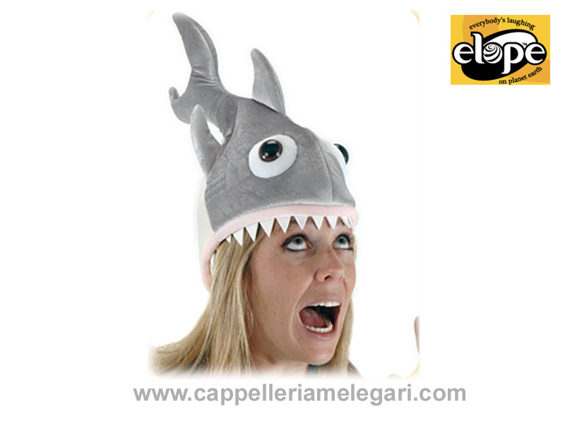 Zylinder Hut Shark, Man Eater Hat Elope USA