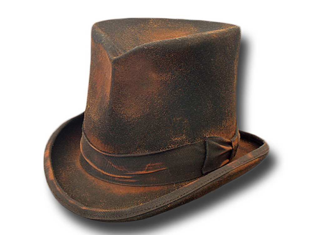 Western Stagecoach Top Hat Dusty