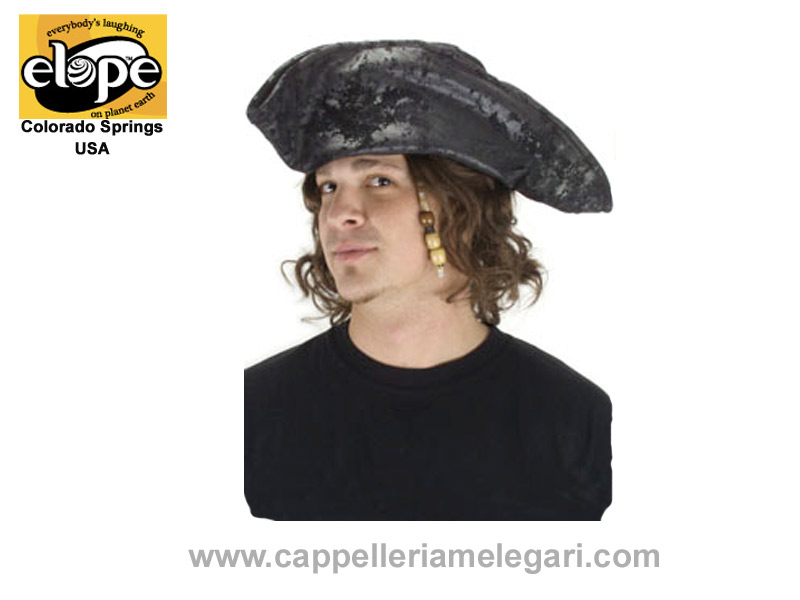 ELOPE U.S.A. Tricorn pirate hat, Old Pirate