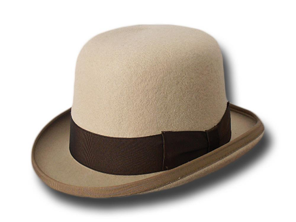 Top quality wool Pinkerton bowler hat