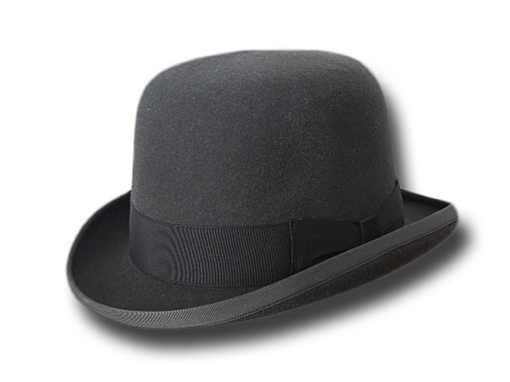 Top quality fur felt Pinkerton bowler hat