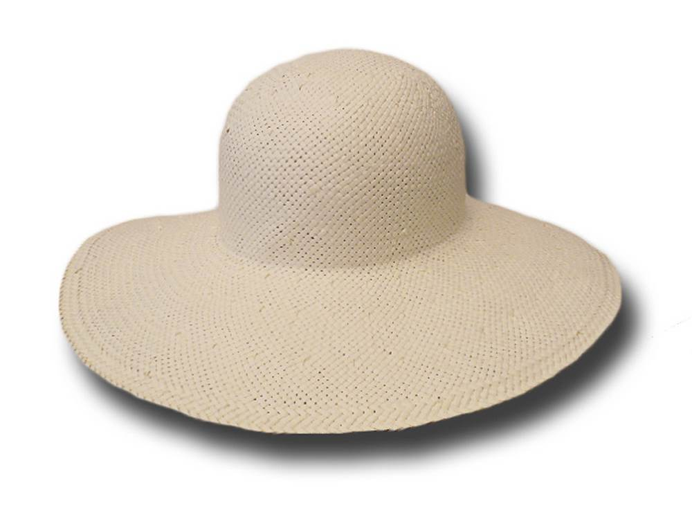 Palm straw woman large brim hat Maratea