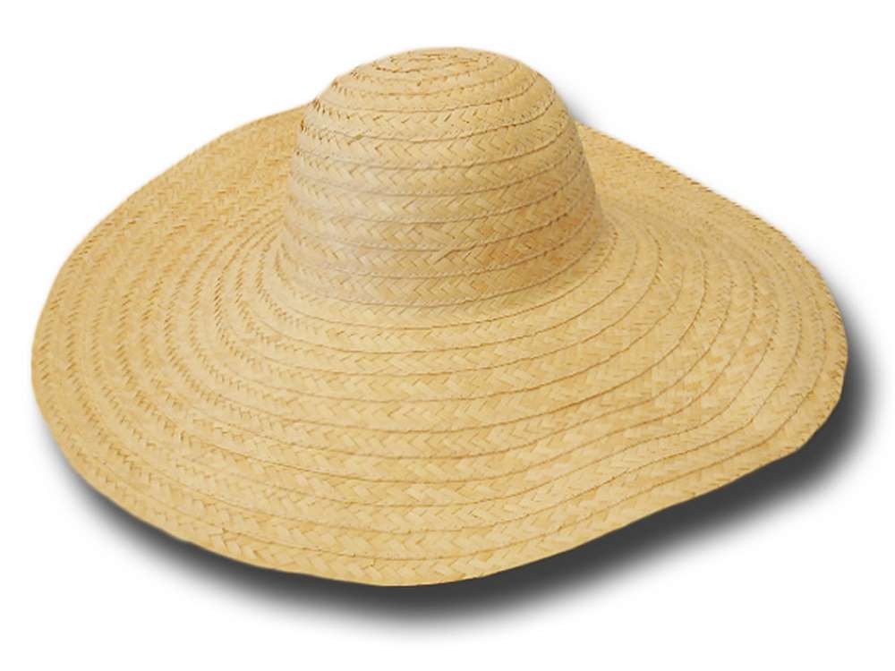 Straw hat body 16 cm