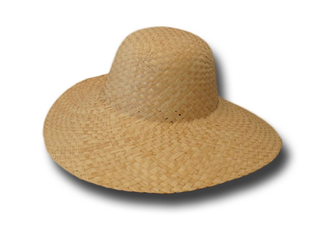 Palm straw hat body 12 cm