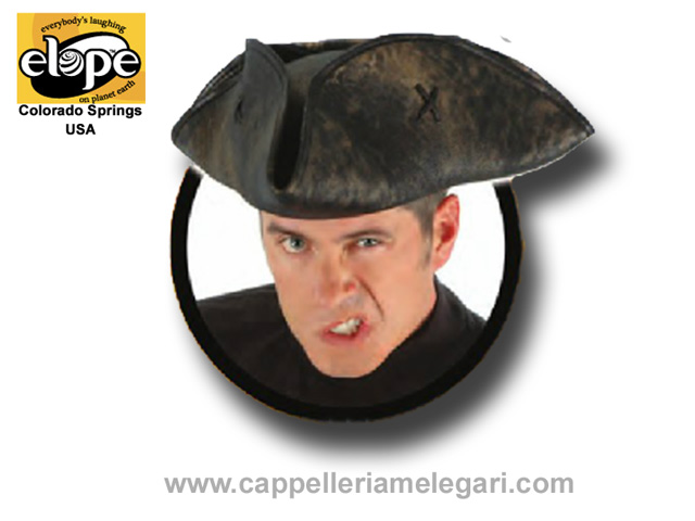 ELOPE U.S.A. Tricorn pirate hat, Scallywag