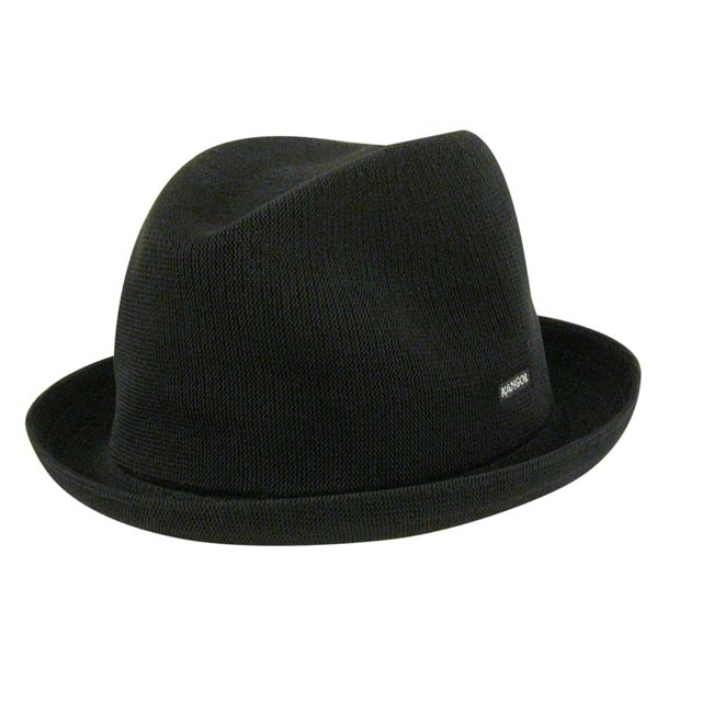 Cappello Trilby tropic player hat Kangol nero