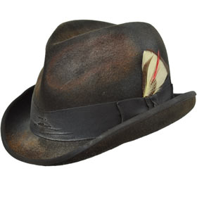 Cappello a Lobbia Homburg Nashville Dusty in l