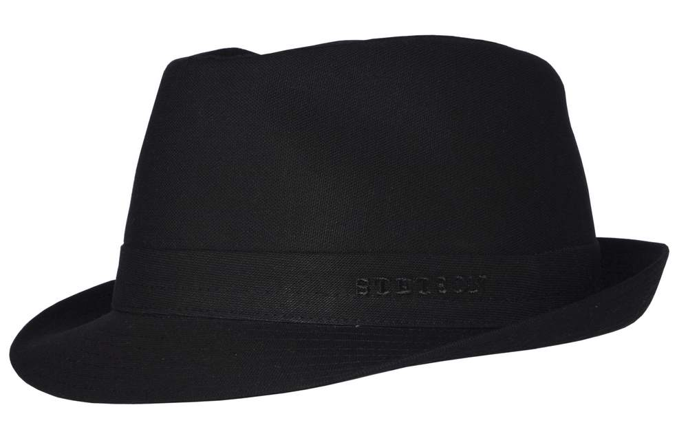 Stetson Cappello trilby in cotone Boston Teton