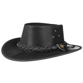 Scippis Hooley Australian leather hat