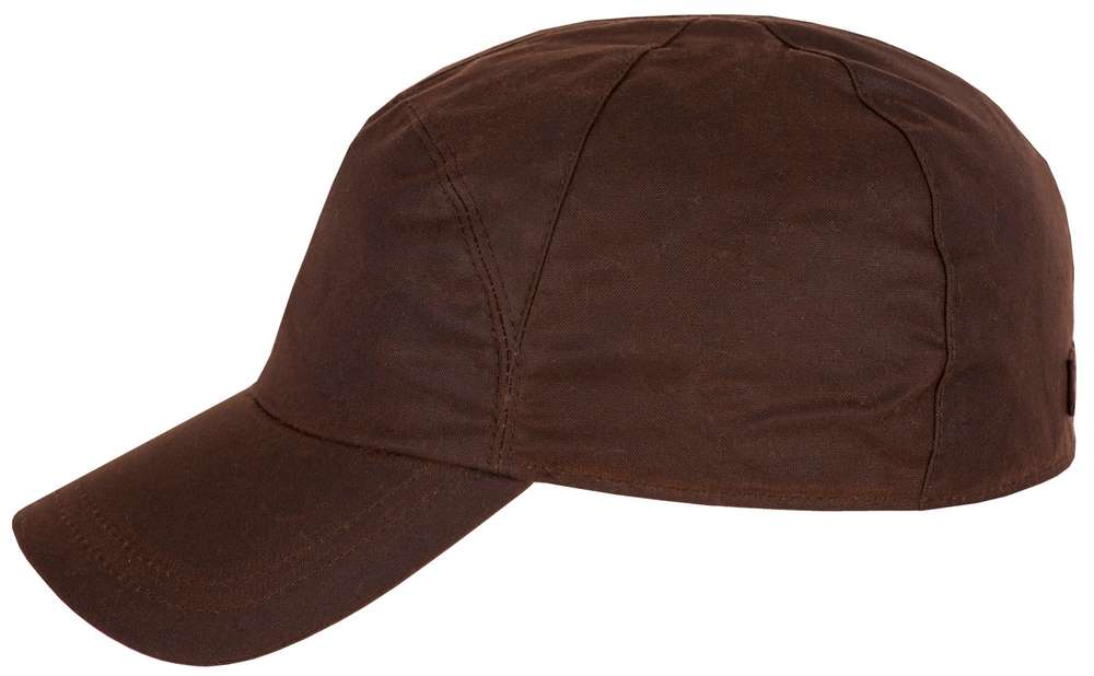 Stetson Maryman oilskin cotton baseball cap wa