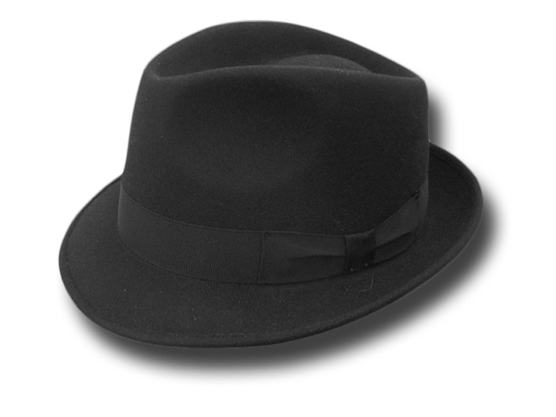 Melegari Trilby Blues Brothers wool hat